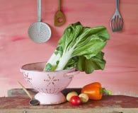 Vegetais na cozinha Imagem de Stock