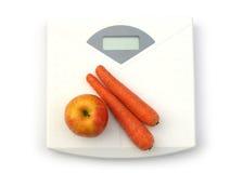 Vegetais na escala Imagens de Stock