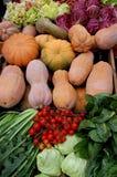 Vegetais na venda Imagem de Stock Royalty Free