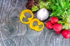 Vegetais no canto Fotografia de Stock