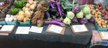 Vegetais no mercado Fotografia de Stock
