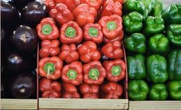 Vegetais no mercado Fotografia de Stock Royalty Free