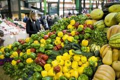 Vegetais no mercado Fotos de Stock Royalty Free