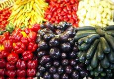 Vegetais no mercado dos fazendeiros Fotos de Stock Royalty Free