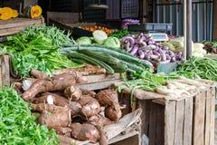 Vegetais no mercado local em Sri Lanka imagem de stock