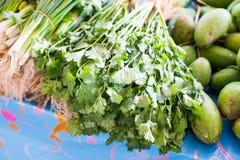 Vegetais no mercado tailandês Imagem de Stock