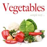 Vegetais orgânicos fotografia de stock