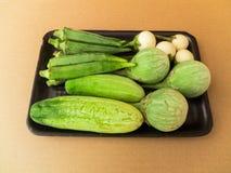 Vegetais orgânicos Fotografia de Stock Royalty Free