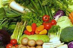 Vegetais orgânicos imagem de stock royalty free