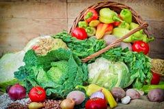 Vegetais orgânicos frescos Imagem de Stock