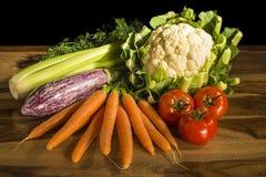 Vegetais para cozinhar Fotos de Stock Royalty Free