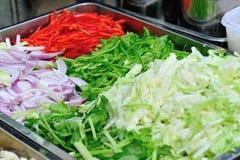 Vegetais para cozinhar Fotografia de Stock