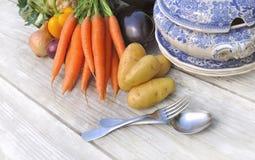 Vegetais para o potage imagem de stock royalty free