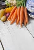 Vegetais para o potage imagem de stock