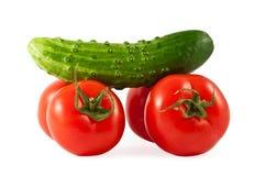 Vegetais para a saúde Imagens de Stock Royalty Free