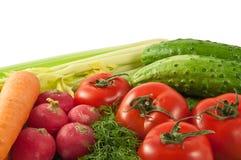 Vegetais para a saúde Fotos de Stock Royalty Free