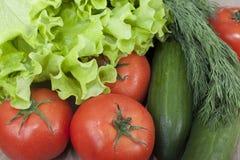 vegetais para saladas. Imagens de Stock Royalty Free