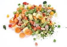 Vegetais para a sopa, congelados Imagens de Stock Royalty Free