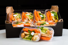 Vegetais para a venda Foto de Stock Royalty Free