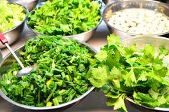 Vegetais preparados frescos Imagens de Stock Royalty Free