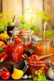 Vegetais preservados Fotografia de Stock