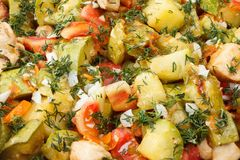 Vegetais prontos para comer Imagem de Stock Royalty Free