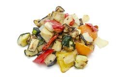 Vegetais Roasted imagens de stock royalty free