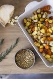 Vegetais Roasted Imagem de Stock
