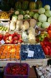 Vegetais saborosos e frutos fotografia de stock royalty free