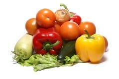 Vegetais saborosos frescos Foto de Stock Royalty Free
