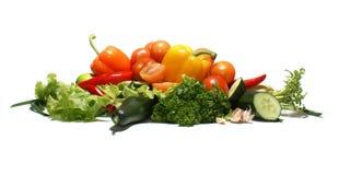 Vegetais saborosos frescos Foto de Stock