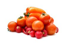 Vegetais saborosos frescos Imagens de Stock