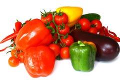 Vegetais saborosos frescos Imagem de Stock