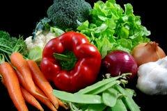 Vegetais saudáveis frescos Imagem de Stock