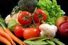 Vegetais saudáveis frescos Fotografia de Stock