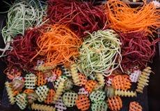 Vegetais shredded crus diferentes como exemplo de uma dieta saudável Fotografia de Stock Royalty Free