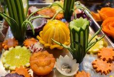 Vegetais shredded crus diferentes como exemplo de uma dieta saudável Fotos de Stock