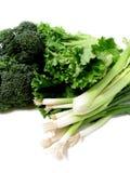 Vegetais verdes 1 Imagem de Stock Royalty Free