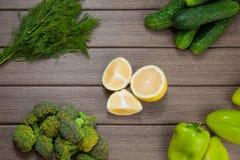 Vegetais verdes Imagens de Stock Royalty Free