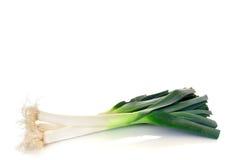 Vegetal, alho-porro imagens de stock
