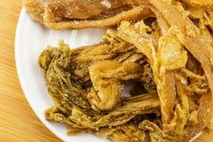 Vegetal chinês preservado Imagem de Stock