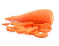 Vegetal da cenoura cancelado isolado fotos de stock