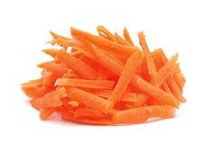 Vegetal da cenoura endurecido fotos de stock royalty free