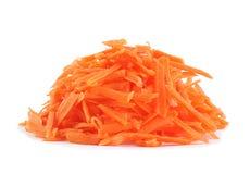 Vegetal da cenoura endurecido fotografia de stock royalty free