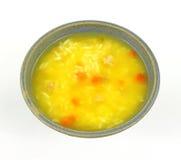 Vegetal da galinha e sopa do arroz Fotografia de Stock Royalty Free