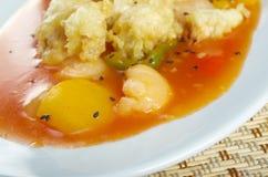 Vegetal do tempura do marisco fotografia de stock royalty free