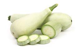Vegetal e fatias frescos da abóbora. Imagem de Stock