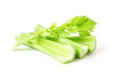 Vegetal fresco do aipo no fundo branco, conceito saudável do alimento Imagem de Stock