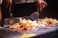 Vegetal fritado japonês Imagem de Stock Royalty Free