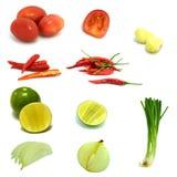 Vegetal misturado Imagem de Stock Royalty Free